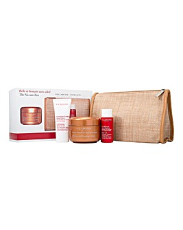 Clarins Tanning and Body Scrub Set