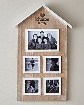 Personalised House Photo Frame