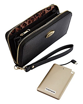 Power Purse with Power Bank