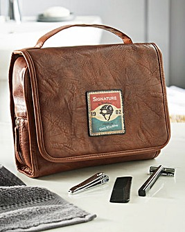 Retro Grooming Washbag and Accessories