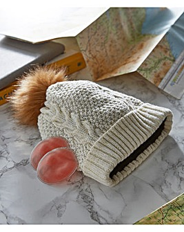 Ladies Click And Heat Hat