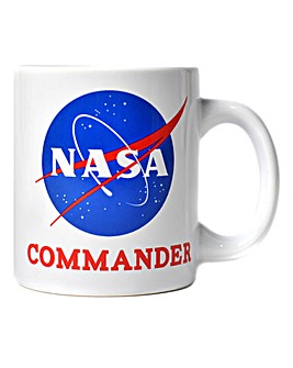 Nasa Commander Mug