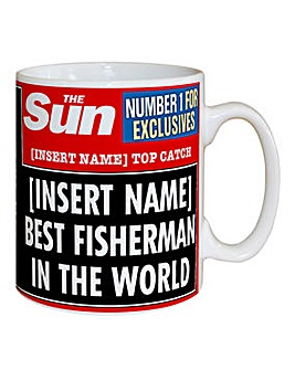 Personalised The Sun Sports Headline Mug