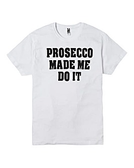 Personalised Made Me Do It T Shirt