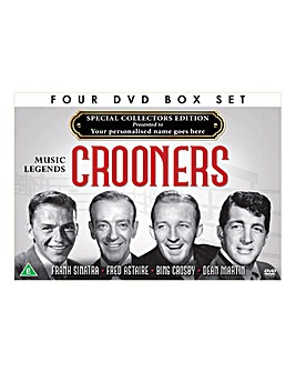 Personalised 4 DVD Box Set Crooners