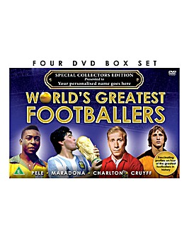 Personalised DVD Set Great Footballers