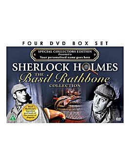 Personalised DVD Box Set Sherlock Holmes