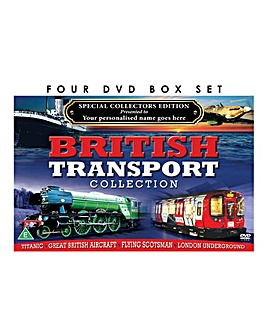 Personalised 4 DVD Best of British Trans