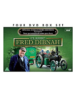 Personalised 4 DVD Fred Dibnah
