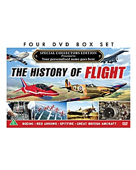 Personalised 4 DVD History of Flight