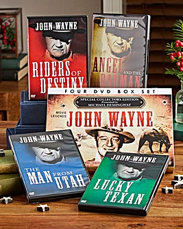 Personalised 4 DVD Box Set John Wayne