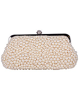 Claudia Canova Clasp Top Pearl Covered