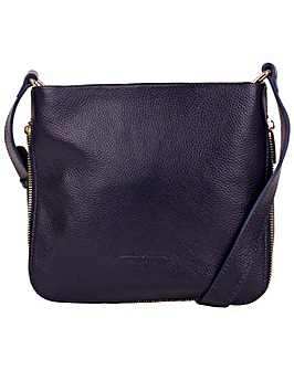Smith & Canova Zip Top Cross Body Bag