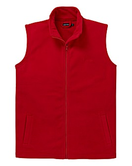 Southbay Unisex Plain Red Gilet