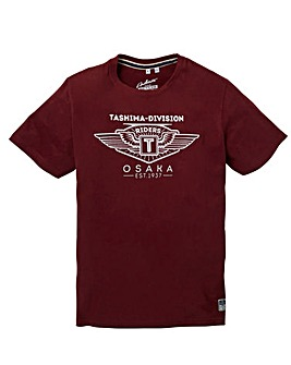 Jacamo Addis Graphic T-Shirt Regular