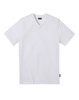 Southbay Unisex White V Neck T-Shirt