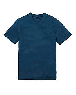 Southbay Unisex Teal V Neck T-Shirt