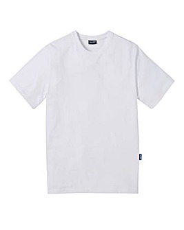 Southbay Unisex White Crew Neck T-Shirt
