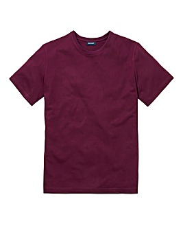 Southbay Unisex Plum Crew Neck T-Shirt