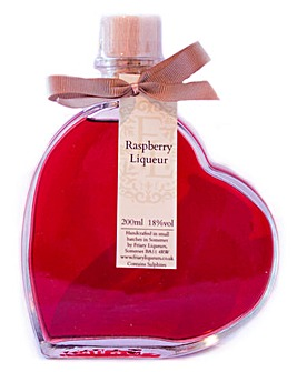 Raspberry Heart Liqueur