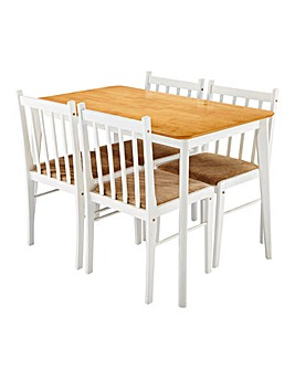 Eaton Dining Table and 4 Chairs