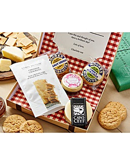 Cheese and Biscuits Letter Box Hamper