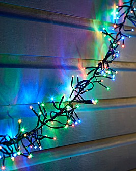 Multi Coloured LED Cluster Lights