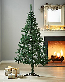 Prelit Cedar Pine Tree