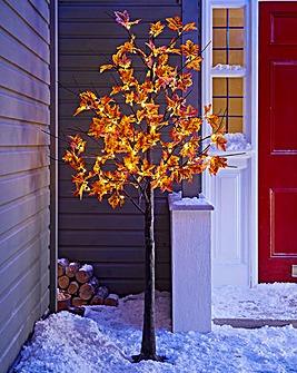 Dark Maple LED Tree