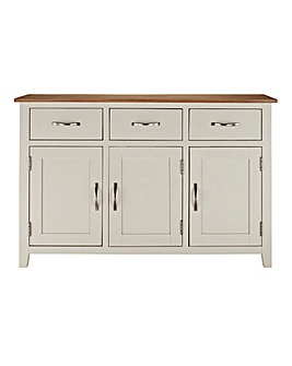 Harrogate Two Tone Oak Large Sideboard