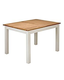 Harrogate Oak Veneer Extending Table
