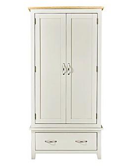 Harrogate Two Tone 2 Door Wardrobe