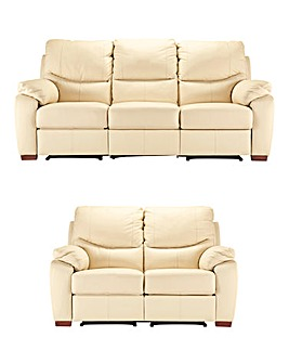 Napoli Leather 2 and 3 Seater Recliner