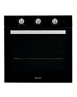 Indesit Built in Fan Oven Black