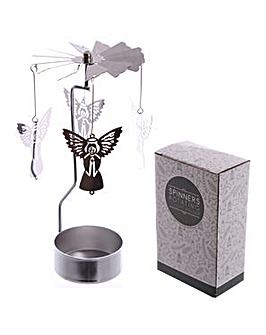 Spinning Tea Light Holder - Angel