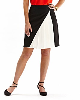Crepe Tennis Skirt