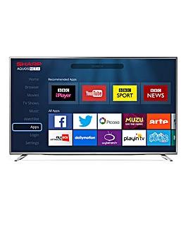 Sharp 55in UHD Smart TV & Installation