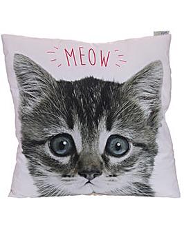 Decorative Kitten MEOW Cushion