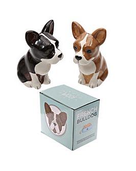 Salt & Pepper Set - French Bulldog