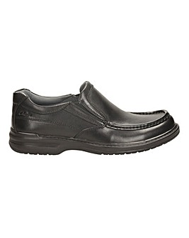 Clarks Keeler Step Shoes  H fitting
