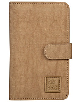 Artsac Card / Notecase With Clasp