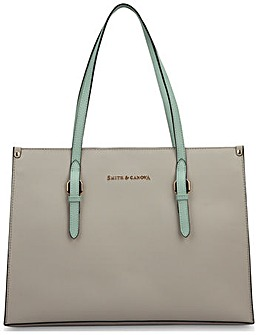 Smith & Canova Twin Strap Tote Bag