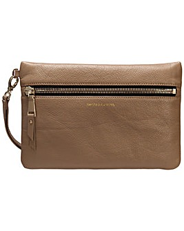 Smith & Canova Zip Fronted Clutch