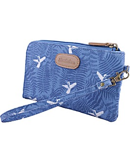 Brakeburn Hummingbird Fern Clutch Purse