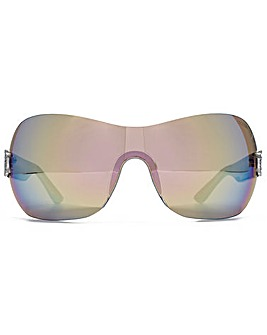 Guess Diamante G Visor Sunglasses
