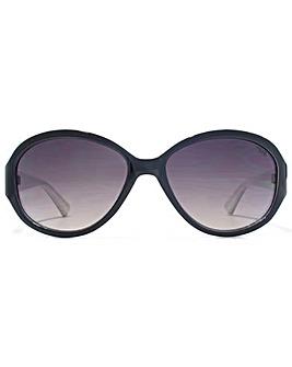 SUUNA Corinne Oval Plastic Sunglasses