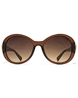 SUUNA Evie Hexagon Detail Sunglasses