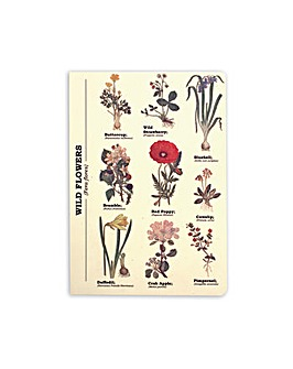 Wild Flowers A5 Notebook