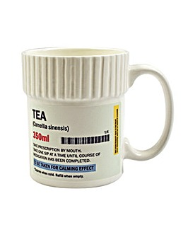 Pill Pot Mug Tea