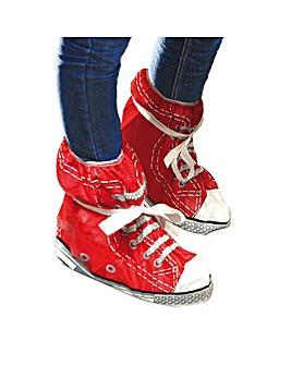 Festival Feet Red